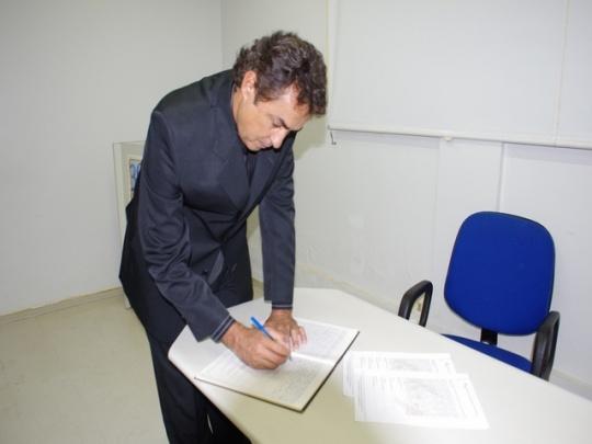 Presidente do Soego, José Augusto Milhomem. Foto: Rodrigo Leles