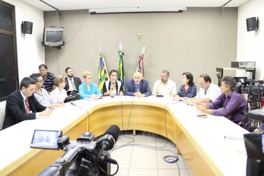 Audiência Pública na Câmara Municipal sobre a dívida do Imas. (Foto: Zé Queiroz)